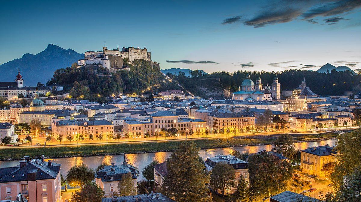 Ausflugsziele - Stadt Salzburg
