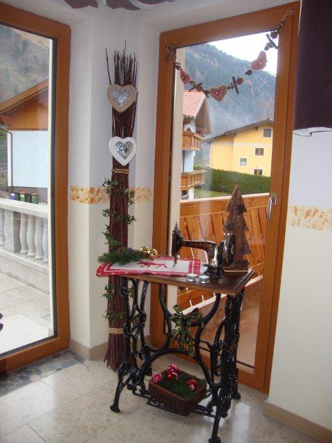 Blick ins Vorhaus von Haus Schnepfleitner
