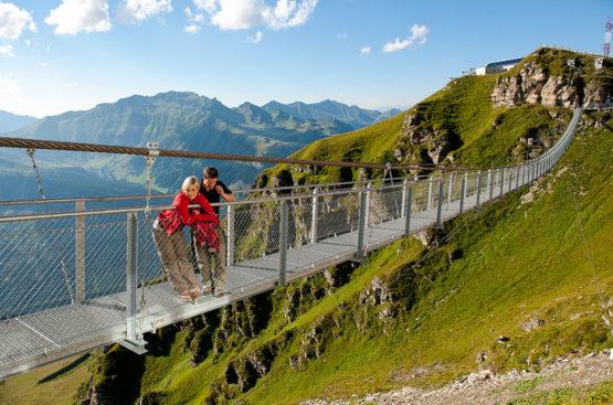 Hängebrücke Gastein - Ausflugsziele im Salzburger Land & in der Stadt Salzburg