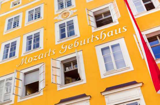 Mozart Geburtshaus - Ausflugsziele im Salzburger Land & in der Stadt Salzburg