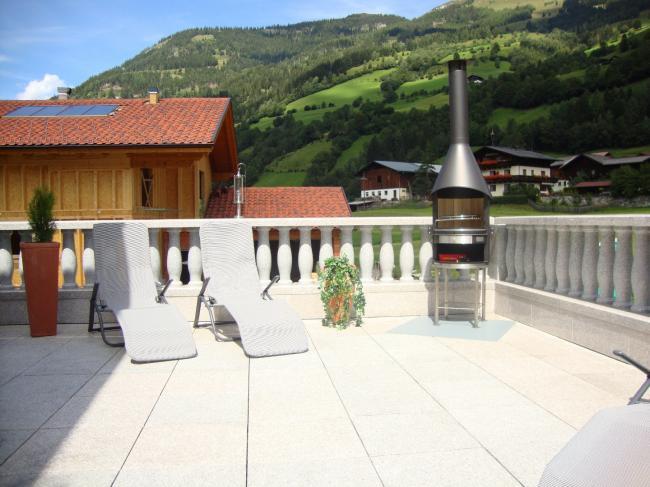 Terrasse zum Grillen und Chillen