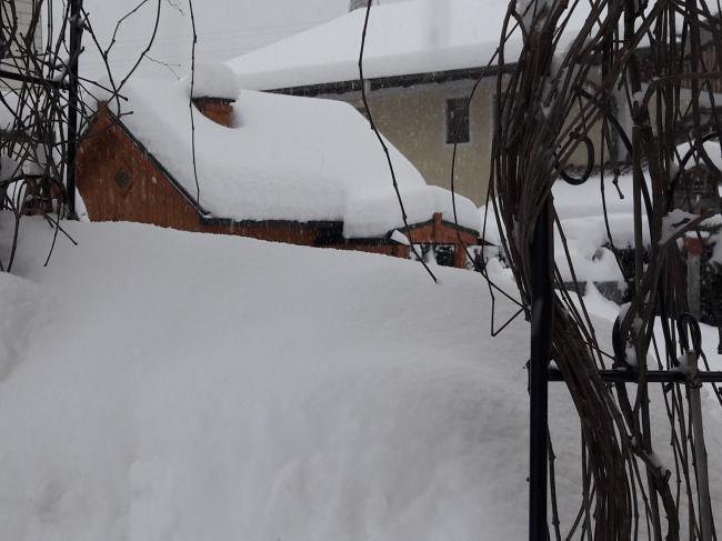 Schnee wohin das Auge reicht